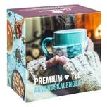 Corasol Premium Tee-Adventskalender 2021 mit 24 weihnachtlichen Gourmet-Teesorten, loser Tee, Geschenk-Idee für Frauen (223 g)