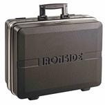 Ironside 100-606 ABS Profi-Werkzeugkoffer 25L, 490 x 365 x 188 mm, schwarz/grau/silber