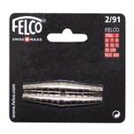 FELCO 291- Ersatzfedern zu Felco Nr. 2/4/7/8/9/10/11, silber (2er Pack)