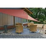 EDUPLAY 160032 Sonnenschutz Sonnensegel, 3,6x3,6x3,6m, Dreieck, rost (1 Stück)