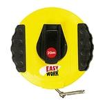 Easy Work Kapselbandmaß 20 m, schwarz/gelb