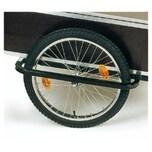 """Speichenrad mit Bereifung 20"""" für Anhänger 'Profi & Jumbo', Achse 9,5, silber/schwarz (1 Stück)"""