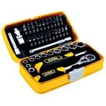 Ironside 200-274 Bit-Steckschl.-Satz 38tlg in Kunststoffbox, schwarz/gelb/grausilber (1 Set)
