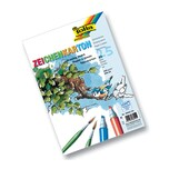 Folia Zeichenkarton 200 g/m², DIN A4, 25 Blatt, weiß (1 Stück)