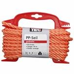 REWWER-TEC 435-964 PP-Seil 8mm 10m gedreht orange a.Haspel (1 Stück)
