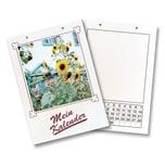 folia 2304 Bastel Dauerkalender, DIN A4, Papier weiß, Druck schwarz, weiß/schwarz (1 Stück)