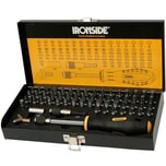 Ironside 244-100 Industrie-Bit-Satz 60 tlg in Metall-Box, schwarz/gelb (1 Set)
