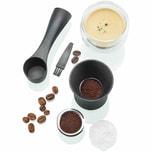 GEFU Kaffeekapseln-Set CONSCIO, anthrazit/silber, 8-teilig (1 Set)