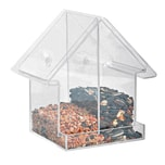 Esschert Design FB372 Acryl Kombifuttersilo Haus, klar