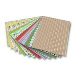 Folia Motivkarton Garten 270 g/m², 50 x 70 cm, 13 Motive, mehrfarbig (13er Pack)