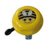 REICH CYCLE-BELLS 104744 gelb Kinderglocke Biene Doming Label Ø 55mm, gelb (1 Stück)