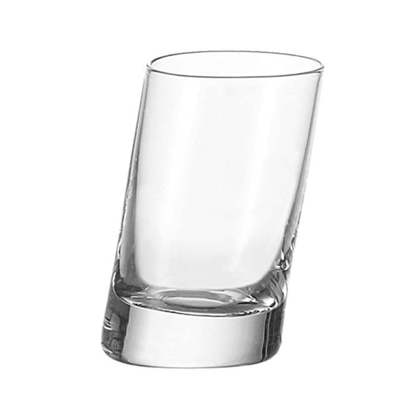 LEONARDO 063038 Pisa Stamper / Schnapsglas / Shotglas, 50 ml, klar