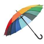 Regenschirm Regenbogen Ø 80 cm 1 Stück
