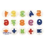 EDUPLAY 220137 Stempel Zahlen bunt, mehrfarbig, 15-teilig (1 Set)
