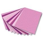Folia 46309 Motivkarton, 270 g/m², 50 x 70 cm, 10 Motive, rosa (10er Pack)