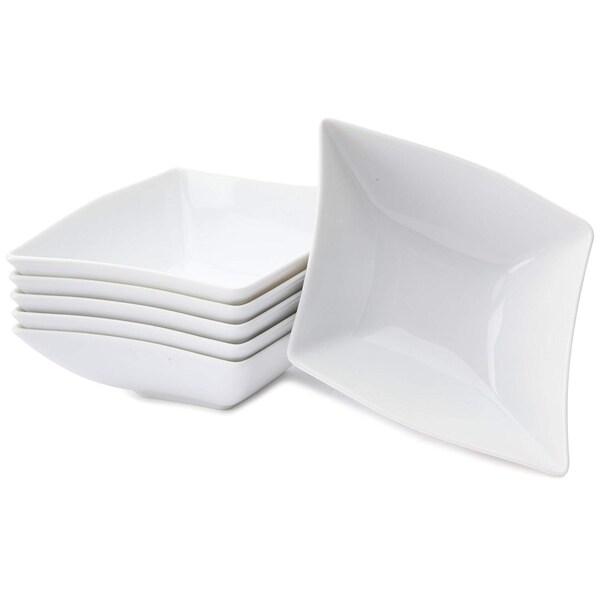 CreaTable 13490 Müslischale Wing, weiß (6er Pack)