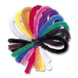 Folia Chenilledraht, extra flauschig, Ø 2 x 50 cm, 10 Farben, mehrfarbig, 50-teilig (1 Set)