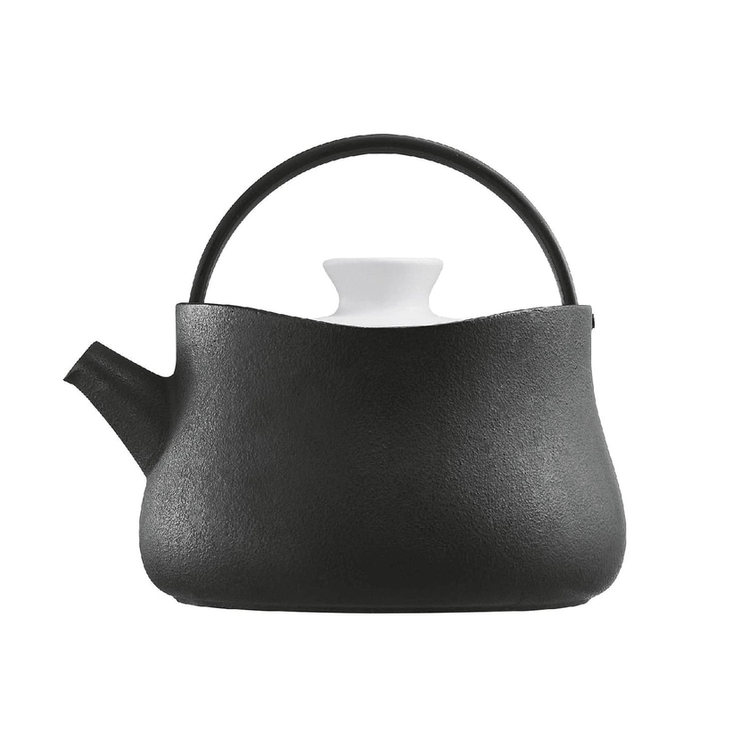 Beka Teekanne Tetsubin Gusseisen + Keramik Ø 16cm