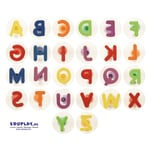 EDUPLAY 220136 Stempel Buchstaben bunt, mehrfarbig, 26-teilig (1 Set)