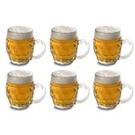 Mäser 140523 Kugele Bierkrug 500ml klar 6er Pack
