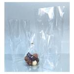 Folia Bodenbeutel unbedruckt, 115x190mm, transparent (10er Pack)