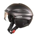 CRATONI 111101A3 Vigor Fahrradhelm Vigor (S-Pedalec) Gr. L (58-59cm), schwarz/matt (1 Stück)