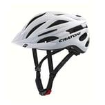 CRATONI 113003C3 Fahrradhelm Pacer (MTB) Gr. L/XL (58-62cm), weiß/matt (1 Stück)