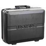 Ironside 100-604 ABS Profi-Werkzeugkoffer 28L, 460 x 335 x 170 mm, schwarz/grau/silber
