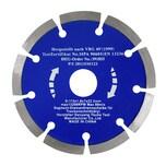 Easy Work 73526 Segment-Diamanttrennscheibe, 115 mm, silber-grau