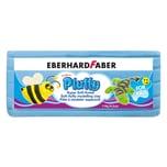 Eberhard Faber 571651 Pluffy Super Soft Knete für Kinder, blau (119 g)