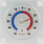 Metaltex 298-017080 Fensterthermometer Kunststoff zum Kleben