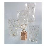 Folia Zellglasbeutel mit goldenem Weihnachtsdruck, 10 Beutel, 180x300mm, transparent (1 Stück)