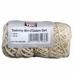 REWWER-TEC 436-006 Twinny-Bindfäden 10/30m 2er-Pack (40 m)