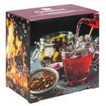 Corasol Premium Früchtetee-Adventskalender 2021 XL, 24 fruchtige Gourmet-Teesorten, loser Tee, Geschenk-Idee für Frauen (231 g)
