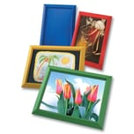 Folia Bilderrahmen aus Fotokarton, 24,5x18,5cm, smaragdgrün (3er Pack)