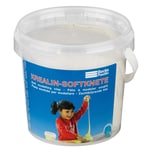 Becks Plastilin B101187 Krealin Softknete im Eimer für Kinder, weiß (600 g)