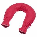 Sänger 136-87 Nackenwärmflasche mit Fleecebezug, rot
