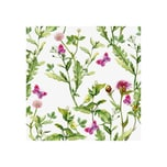 Paper + Design 191670 Serviette Schmetterlinge 33x33, violett/grün (20er Pack)