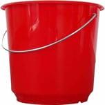 Lockweiler 101-021542 Haushaltseimer 15 Liter rot