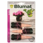 Blumat 103-08 Classic automatischer Wasserspender Bewässerung für Zimmerpflanzen, grün/terracotta (3 Stück)