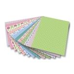 Folia 46909 Motivkarton Romantik mehrfarbig 270 g/m² 50x70cm 13-teilig