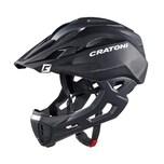 CRATONI 112402B1 C-Maniac Fahrradhelm C-Maniac (Freeride) Gr. S/M (52-56cm) schwarz matt, schwarz/matt