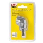 Easy Work Winkelvorsatz Bithalter 1/4, silber (1 Set)