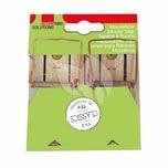 SWISSINNO 171-8306 Classic Holz-Mausefalle, natur (2er Pack)