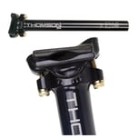 THOMSON SP-E150 black Patentsattelstütze Elite Ø 25,4mm, 330mm, 256g, schwarz (1 Stück)