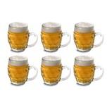 Mäser 140522 Kugele Bierkrug 300ml klar 6er Pack