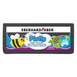 Eberhard Faber 571699 Pluffy Super Soft Knete für Kinder, schwarz (119 g)