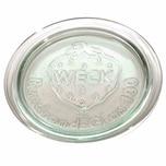 WECK 401-1162804906 Ersatzdeckel für Rundrand-Glas 100 mm, klar