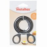 Metaltex 251-005010 Eierköpfer Edelstahl 10,5cm, silber (1 Stück)