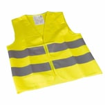 Cartrend 737-67 Warnweste Kinder & Jugend, DIN EN1150, gelb